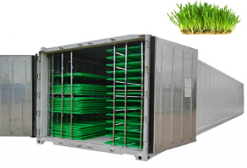 Container (20ft) farms 500kg / Day