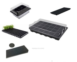 Germination trays With Cap 24 Holes