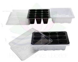 Germination trays With Cap 12 Holes