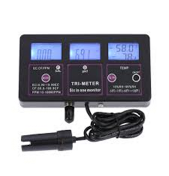 Device 3IN1 Continuous Reading Salts And Temperature,Acids